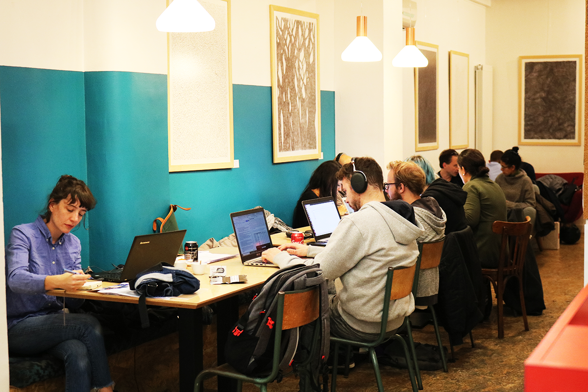 Anticafé Beaubourg, espace de coworking à Paris