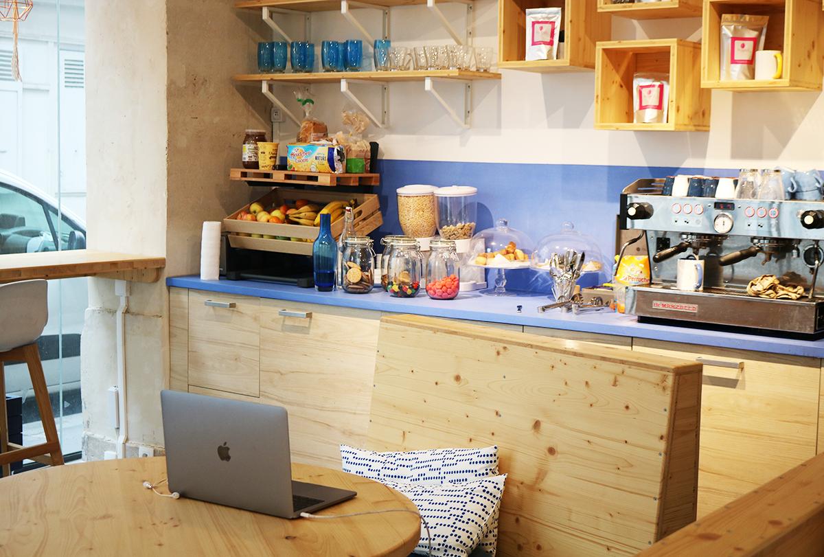 La Galerie Café, espace de coworking à Paris