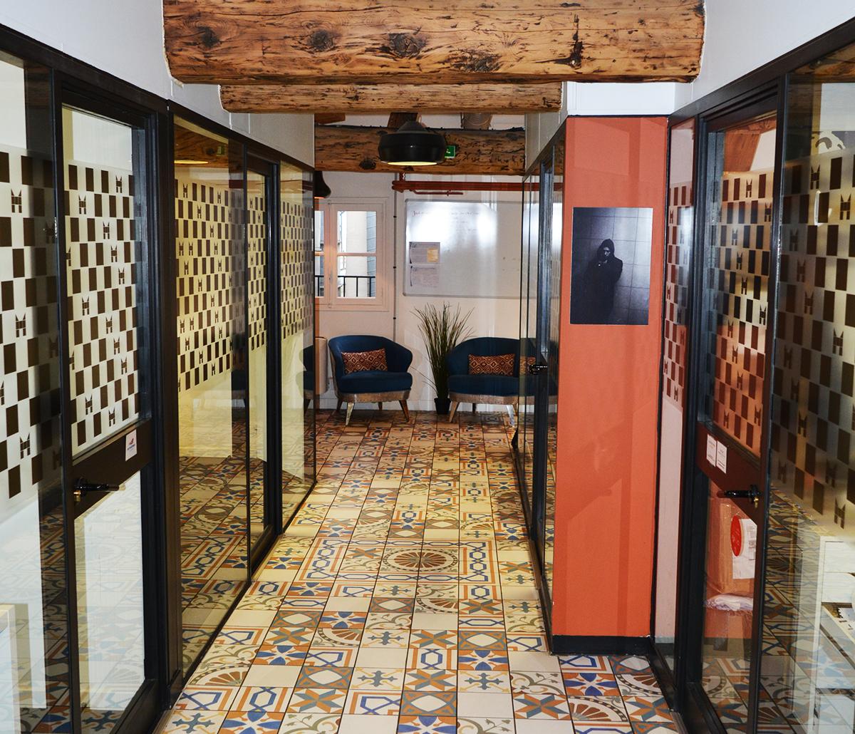 Mozaik, espace de coworking à Paris