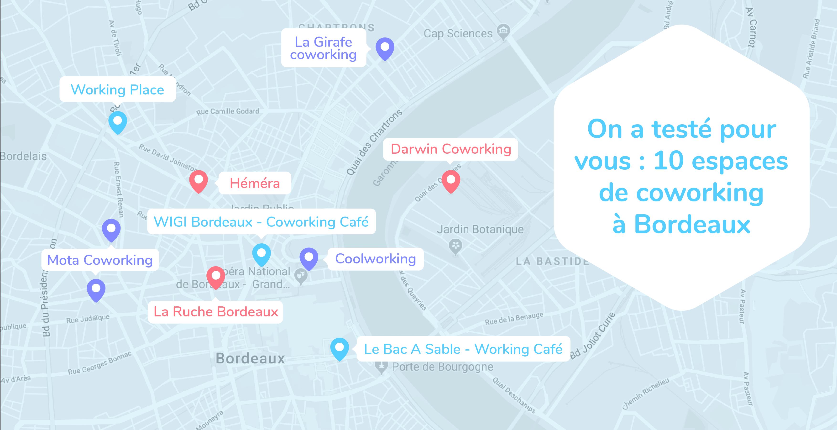 10 espaces de coworking à Bordeaux