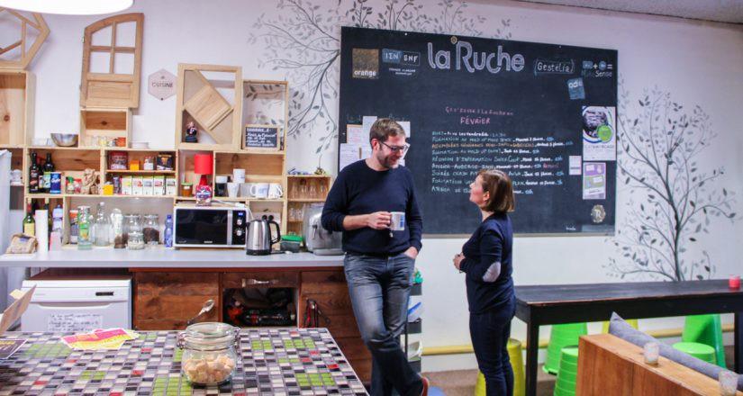 La Ruche Bordeaux, espace de coworking à Bordeaux